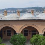 Blick über die Kuppeln des Imaret