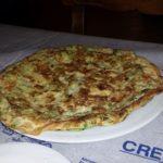 Omlett mit Zucchini und Käse - unspektakulär