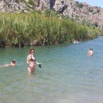 Strandleben: der Selfistick darf nicht fehlen