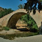 Die spätosmanische Brücke von Preveli