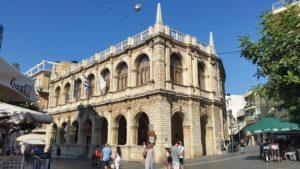 Die venezianische Loggia in Iraklio
