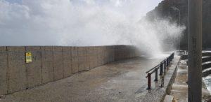 Soughia, Hafen bei Sturm