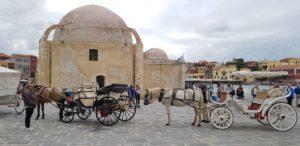 Die Janitsaren-Moschee in Chania