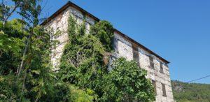 Zustand des Gebäudes in Metaxochori heute