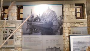 Historische Fotos in der Ausstellung des Besucherzentrums