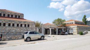 Das Besucherzentrum Limini Karlas in Kanalia